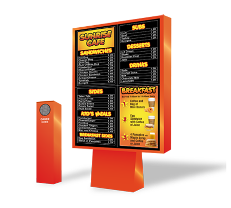 Drive-Thru Menu Boards