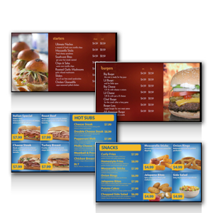 Digital Menu Board Products